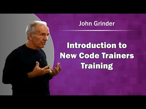 Introduction to New Code Trainers Training