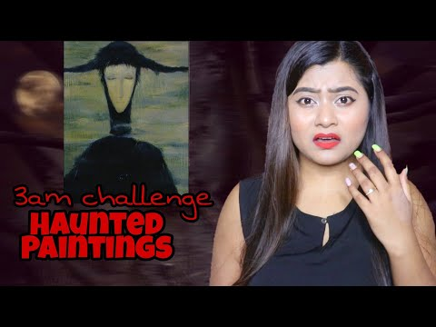 Most *HAUNTED* Paintings Story 💀| 3am Challenge|RIA