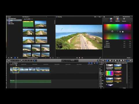 FCPX Color Correction DJI