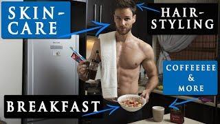 Video MALE MODEL MORNING ROUTINE | hairstyle, skin care, breakfast & more MP3, 3GP, MP4, WEBM, AVI, FLV November 2018