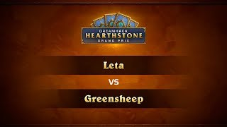 GreenSheep vs Leta, game 1