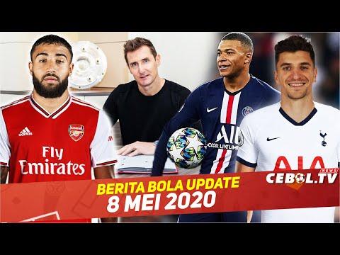 Miroslav Klose Jadi Asisten Pelatih Muchen🔴Mbappe Top Scorer Liga Prancis 🔴Arsenal Bidik Nabil Fekir