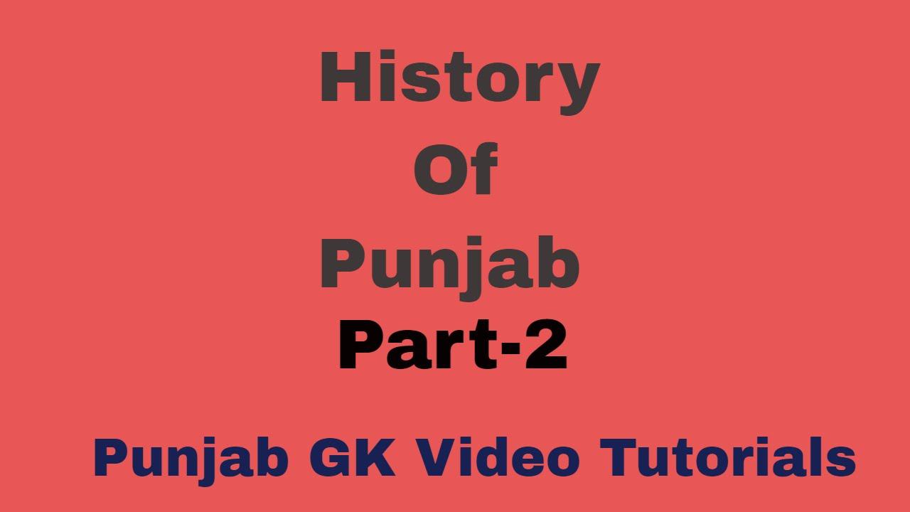 Punjab gkpunjab general knowledgehistory of punjab for pcs exam youtube video preview buycottarizona Gallery