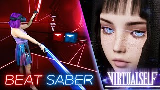 Virtual Self - Angel Voices [Beat Saber] by iHasCupquake