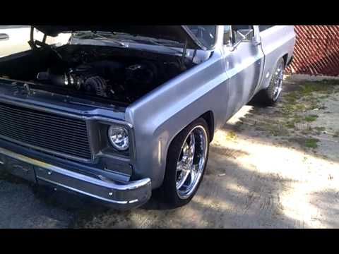 1974 chevy c10 supercharged 5.3l vortec