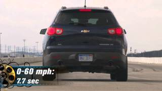 2011 Chevrolet Traverse - First Test