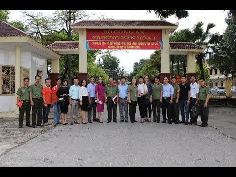 Chuyến thăm và học tập kinh nghiệm tại trường Văn hóa 1 - Bộ Công an (10/2017)