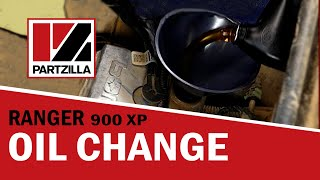 9. Polaris Ranger 900 XP Oil Change  | Partzilla.com