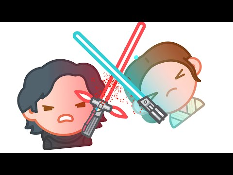 Star Wars The Force Awakens as told by Emoji