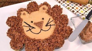 Cupcake Cake - Leon the Lion | RadaCutlery.com