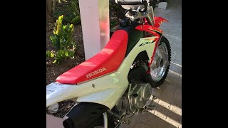 2. Honda CRF110F Dirt Bike Review and Startup