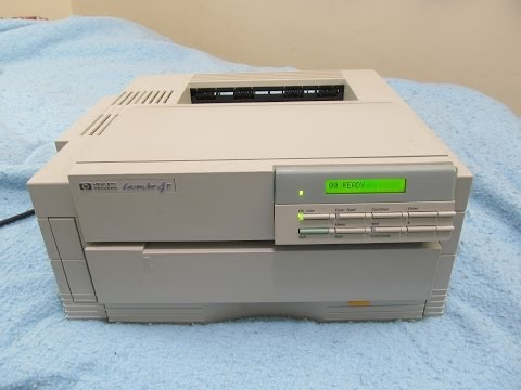 HP LaserJet 4P printer (1993)