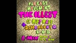 Thumbnail for Far East Movement ft. Riff Raff, Schoolboy Q & B.o.B — The Illest (Remix)