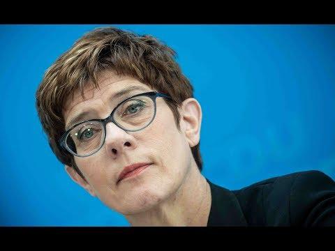 Politiker-Ranking: AKK stürzt in einer Forsa-Umfrage drastisch ab