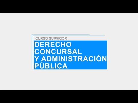 ISEL Curso Superior en Derecho Concursal y Administración Pública