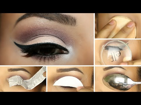 5 Tricks for Basin Eye Makeup / How to mark the eye socket