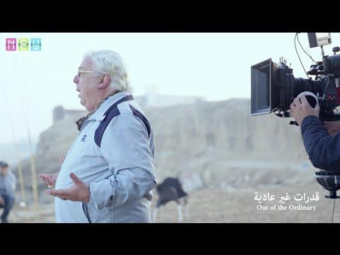 """حسن كامي أثناء تصويره فيلم """"قدرات غير عادية"""""""