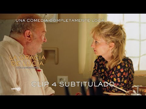 """La gracia de Lucía - Clip Subtitulado """"Te envidio""""?>"""