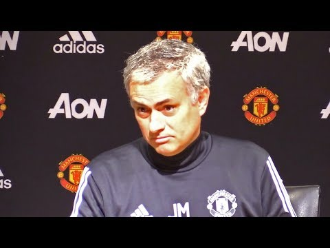Manchester United 2-0 Derby - Jose Mourinho Full Post Match Press Conference - Hits Back At Conte (видео)