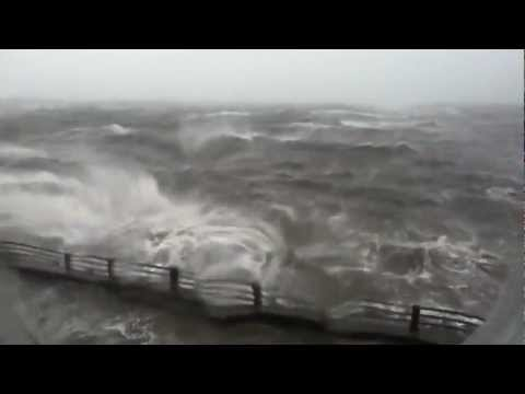 Hurricane Sandy Storm Footage (Union Beach, NJ)