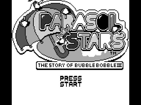 Parasol Stars Game Boy