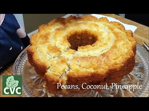 Tammy's Tropical Cake , A Coconut Delight