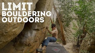 Limit Bouldering Outdoors by Jackson Climbs