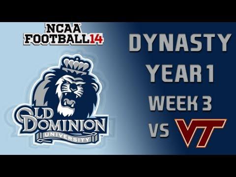 NCAA Football 14 Dynasty - Old Dominion: Episode 4