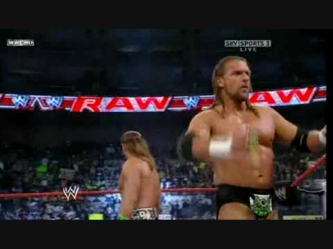 WWE RAW 11/16/2009: DX Vs Chris Jericho & The Big Show Vs John Cena & The