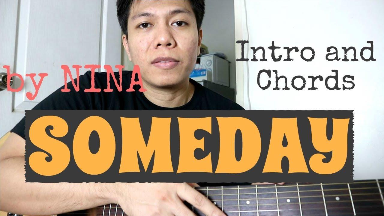 Someday Guitar Tutorial – Nina (Intro and Chords)