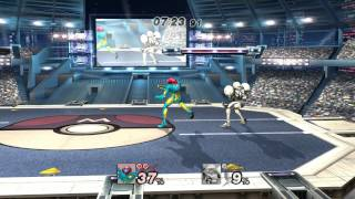 Nanobuds uploaded a showcase match of Light Suit Samus and the newly announced Fusion Suit Samus.