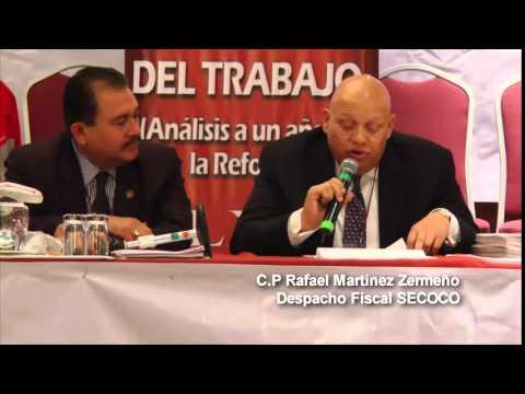 LXII Convenci�n Nacional de la CROM, conferencia reforma fiscal