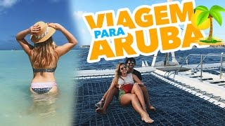 Viemos passar uma mini-férias aqui em Aruba e já estamos apaixonados. Vamos ficar 5 dias por aqui e mostrar tudo dessa...