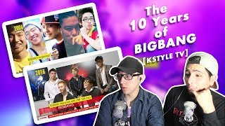 Video GUYS REACT TO 'The 10 Years of BIGBANG' (KSTYLE TV) MP3, 3GP, MP4, WEBM, AVI, FLV Juni 2018