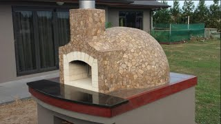 Wood Fired Pizza Oven Construction. How we built our Pompeii dome pizza oven 2015. This is a slideshow of how we ...