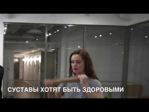 Екатерина Андреева показала секретную гимнастику