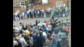 Hertford United Kingdom  City new picture : olympic torch through HERTFORD UK 1