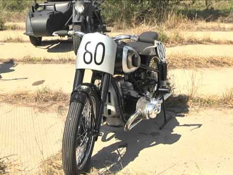 В Бобровке показали коллекцию ретро мотоциклов