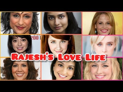 Rajesh's Dates On The Big Bang Theory | Real Life