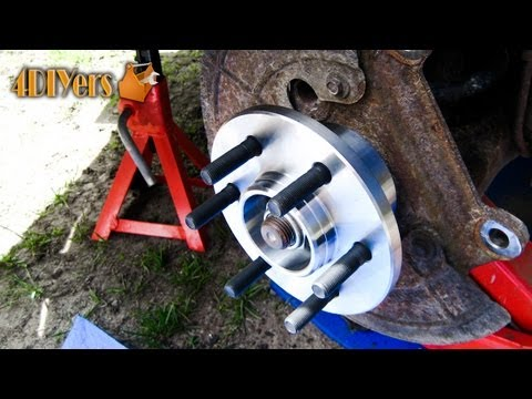 DIY: 1997-2004 Dodge Dakota 2WD Wheel Bearing Replacement