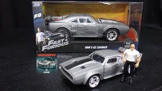 Nonton Fast & Furious 8 - Dom's Ice Charger - Jada Toys 1:24 Models Unboxing Film Subtitle Indonesia Streaming Movie Download