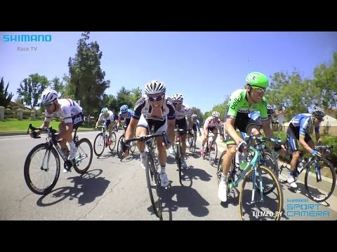 Frantic pace of Tour of California sprint revealed in film