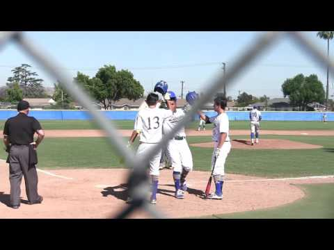 2017 CIF-SS D-1 Playoff Baseball El Toro vs Bishop Amat