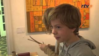 Januari 2015 - 3D Stadsgezichten knutselen in Museum IJsselstein