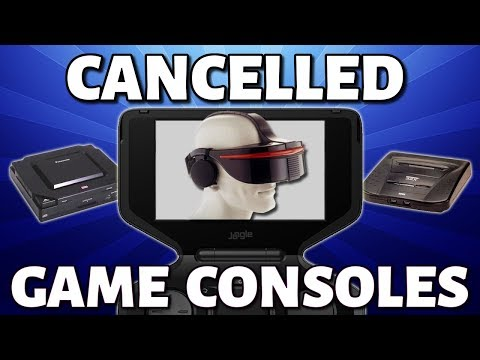 18 Cancelled Game Consoles
