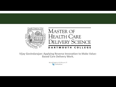Research from Vijay Govindarajan: Applying Reverse Innovation to Make Value-Based Care Delivery Work Thumbnail
