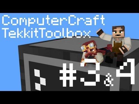 Tekkit Toolbox ComputerCraft Episodes 3 & 4: Variables and Password-Locked Door