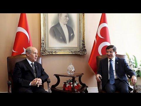 Τουρκία: Ναυάγησαν οι συνομιλίες – «Όχι» σε κυβέρνηση συνασπισμού