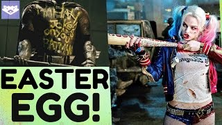 HARLEY QUINN KILLED ROBIN! - Suicide Squad Easter Eggs