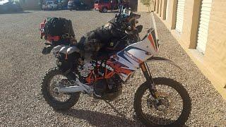 7. 2018 Winter Baja ADV KTM 690 fully loaded